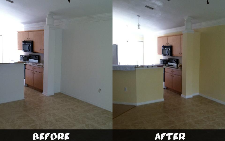 Jacksonville kitchen painter