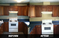 Kitchen Wallpaper Removal
