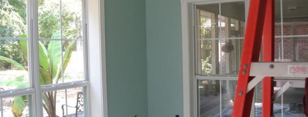 Home Trim Painted White