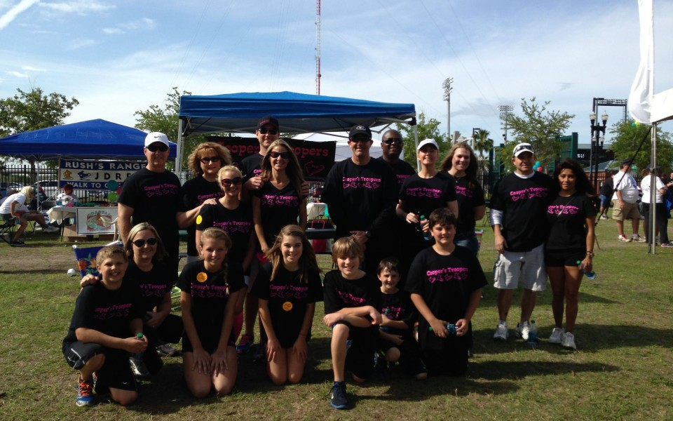 904 Painting Crew at the Juvenile Diabetes Walk